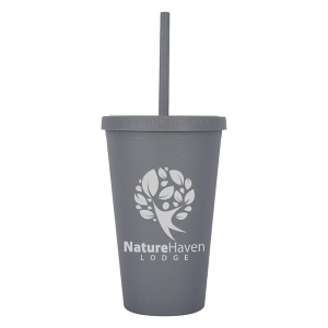 16 Oz. Newport Harvest Travel Tumbler