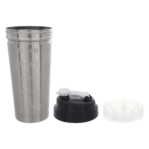 25 Oz. Typhoon Stainless Steel Ultimate Shaker Bottle